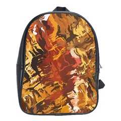 Abstraction Abstract Pattern School Bags(Large)
