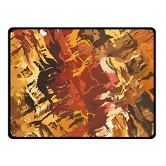Abstraction Abstract Pattern Fleece Blanket (small)