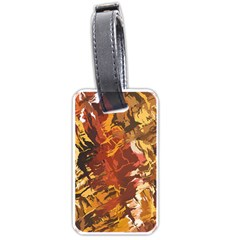 Abstraction Abstract Pattern Luggage Tags (Two Sides)