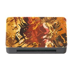 Abstraction Abstract Pattern Memory Card Reader with CF