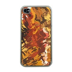 Abstraction Abstract Pattern Apple iPhone 4 Case (Clear)