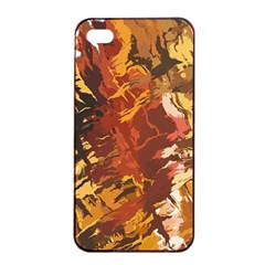 Abstraction Abstract Pattern Apple iPhone 4/4s Seamless Case (Black)