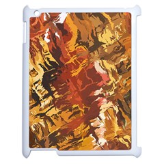 Abstraction Abstract Pattern Apple iPad 2 Case (White)