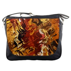 Abstraction Abstract Pattern Messenger Bags
