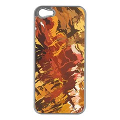 Abstraction Abstract Pattern Apple Iphone 5 Case (silver)