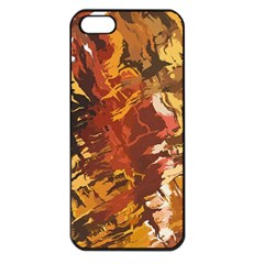 Abstraction Abstract Pattern Apple iPhone 5 Seamless Case (Black)