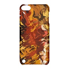 Abstraction Abstract Pattern Apple iPod Touch 5 Hardshell Case with Stand