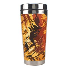 Abstraction Abstract Pattern Stainless Steel Travel Tumblers