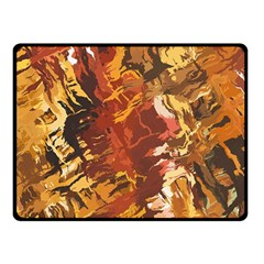 Abstraction Abstract Pattern Double Sided Fleece Blanket (small)