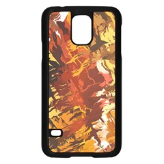 Abstraction Abstract Pattern Samsung Galaxy S5 Case (Black)