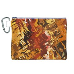 Abstraction Abstract Pattern Canvas Cosmetic Bag (XL)