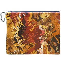 Abstraction Abstract Pattern Canvas Cosmetic Bag (XXXL)