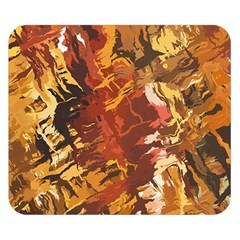 Abstraction Abstract Pattern Double Sided Flano Blanket (Small)