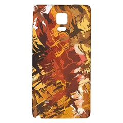 Abstraction Abstract Pattern Galaxy Note 4 Back Case