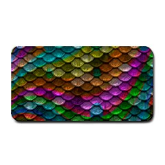 Fish Scales Pattern Background In Rainbow Colors Wallpaper Medium Bar Mats