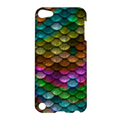 Fish Scales Pattern Background In Rainbow Colors Wallpaper Apple Ipod Touch 5 Hardshell Case