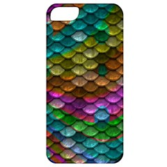 Fish Scales Pattern Background In Rainbow Colors Wallpaper Apple Iphone 5 Classic Hardshell Case
