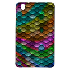 Fish Scales Pattern Background In Rainbow Colors Wallpaper Samsung Galaxy Tab Pro 8 4 Hardshell Case