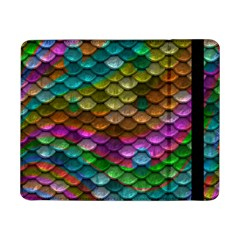 Fish Scales Pattern Background In Rainbow Colors Wallpaper Samsung Galaxy Tab Pro 8.4  Flip Case