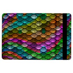 Fish Scales Pattern Background In Rainbow Colors Wallpaper Ipad Air 2 Flip