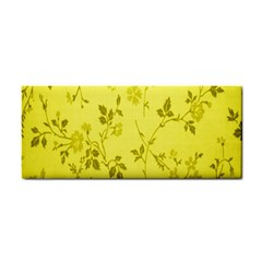 Flowery Yellow Fabric Cosmetic Storage Cases