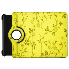 Flowery Yellow Fabric Kindle Fire HD 7