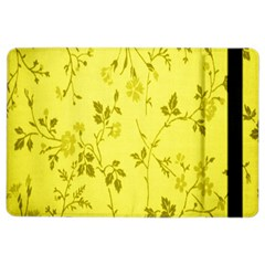 Flowery Yellow Fabric Ipad Air 2 Flip