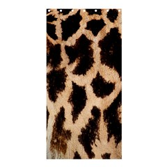 Giraffe Texture Yellow And Brown Spots On Giraffe Skin Shower Curtain 36  x 72  (Stall)