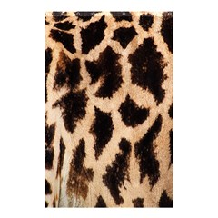 Giraffe Texture Yellow And Brown Spots On Giraffe Skin Shower Curtain 48  X 72  (small)