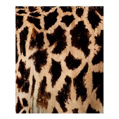 Giraffe Texture Yellow And Brown Spots On Giraffe Skin Shower Curtain 60  x 72  (Medium)