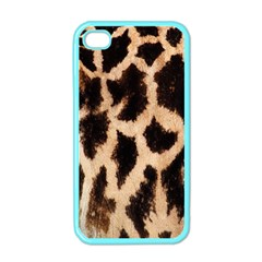 Giraffe Texture Yellow And Brown Spots On Giraffe Skin Apple iPhone 4 Case (Color)