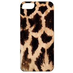 Giraffe Texture Yellow And Brown Spots On Giraffe Skin Apple iPhone 5 Classic Hardshell Case