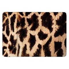 Giraffe Texture Yellow And Brown Spots On Giraffe Skin Samsung Galaxy Tab 8.9  P7300 Flip Case