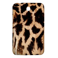 Giraffe Texture Yellow And Brown Spots On Giraffe Skin Samsung Galaxy Tab 3 (7 ) P3200 Hardshell Case