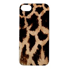 Giraffe Texture Yellow And Brown Spots On Giraffe Skin Apple iPhone 5S/ SE Hardshell Case