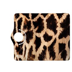 Giraffe Texture Yellow And Brown Spots On Giraffe Skin Kindle Fire HDX 8.9  Flip 360 Case