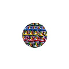 The Eye Of Osiris As Seen On Mediterranean Fishing Boats For Good Luck 1  Mini Buttons