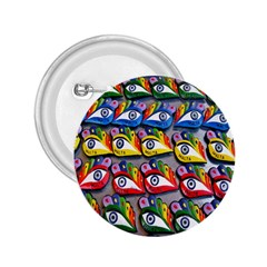 The Eye Of Osiris As Seen On Mediterranean Fishing Boats For Good Luck 2.25  Buttons