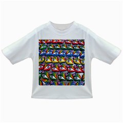 The Eye Of Osiris As Seen On Mediterranean Fishing Boats For Good Luck Infant/Toddler T-Shirts