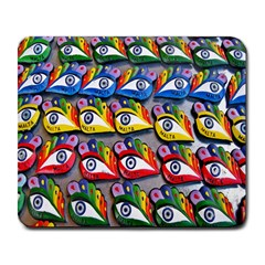 The Eye Of Osiris As Seen On Mediterranean Fishing Boats For Good Luck Large Mousepads