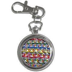 The Eye Of Osiris As Seen On Mediterranean Fishing Boats For Good Luck Key Chain Watches