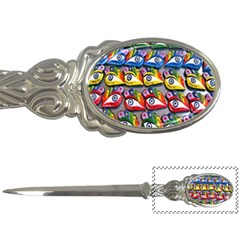 The Eye Of Osiris As Seen On Mediterranean Fishing Boats For Good Luck Letter Openers