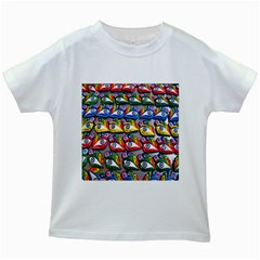 The Eye Of Osiris As Seen On Mediterranean Fishing Boats For Good Luck Kids White T Shirts