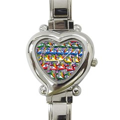 The Eye Of Osiris As Seen On Mediterranean Fishing Boats For Good Luck Heart Italian Charm Watch