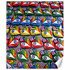 The Eye Of Osiris As Seen On Mediterranean Fishing Boats For Good Luck Canvas 20  X 24