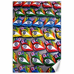 The Eye Of Osiris As Seen On Mediterranean Fishing Boats For Good Luck Canvas 20  x 30