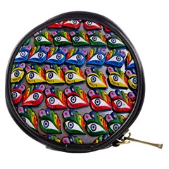 The Eye Of Osiris As Seen On Mediterranean Fishing Boats For Good Luck Mini Makeup Bags