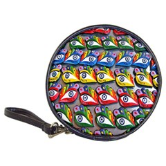 The Eye Of Osiris As Seen On Mediterranean Fishing Boats For Good Luck Classic 20-CD Wallets