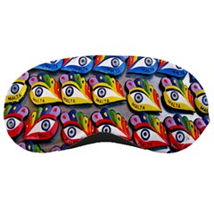 The Eye Of Osiris As Seen On Mediterranean Fishing Boats For Good Luck Sleeping Masks