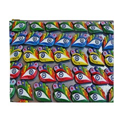 The Eye Of Osiris As Seen On Mediterranean Fishing Boats For Good Luck Cosmetic Bag (xl)